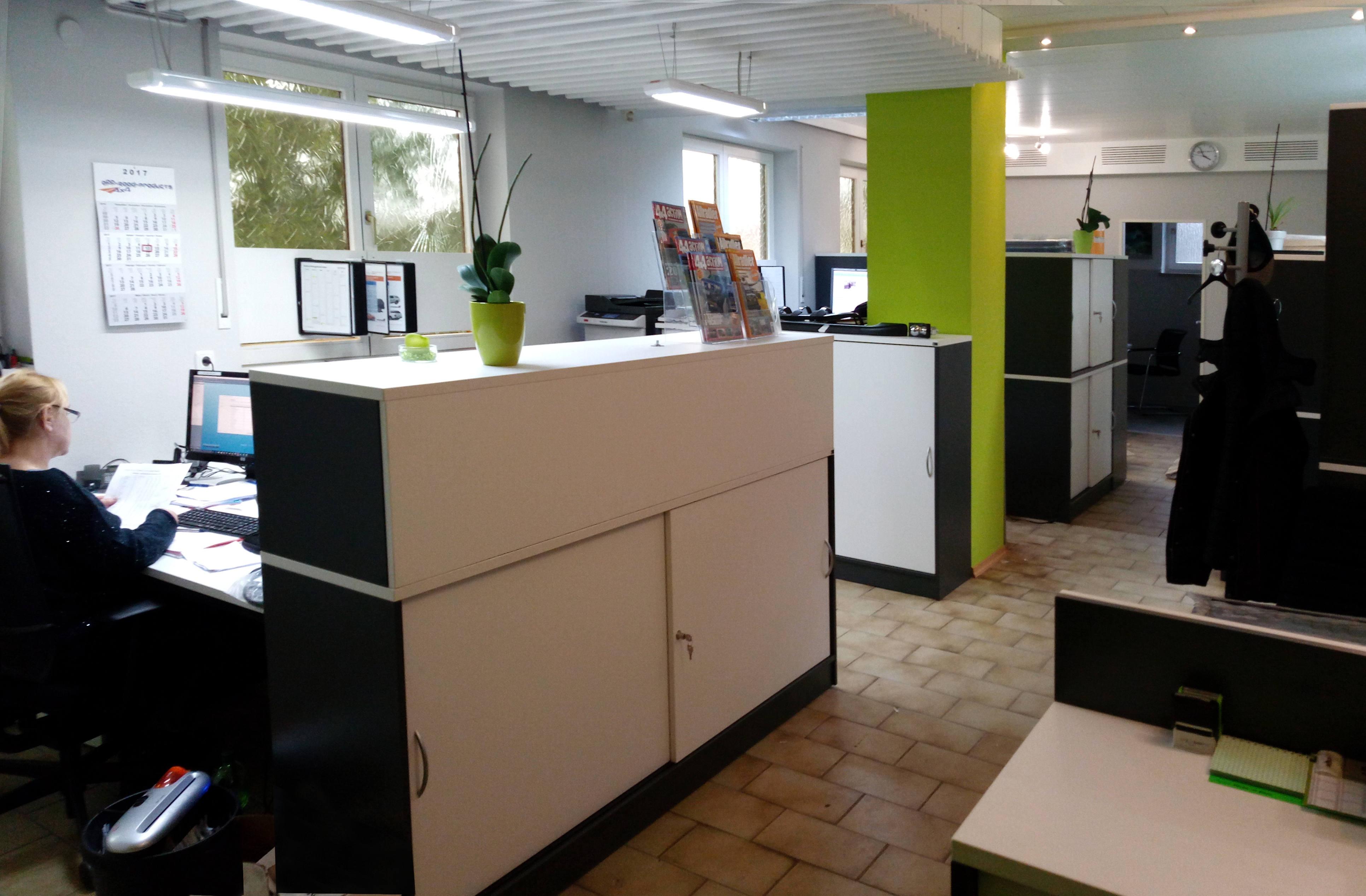 Büroräume von Off-Road-Products
