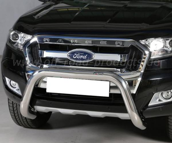 Rammschutzbügel, Superbar für Ford Ranger mit ACC/PCC