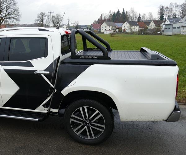 Alu Laderaumabdeckung für die Mercedes X-Klasse Upstone Evolve