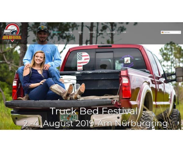 Erstes markenoffene Truck Bed Festival